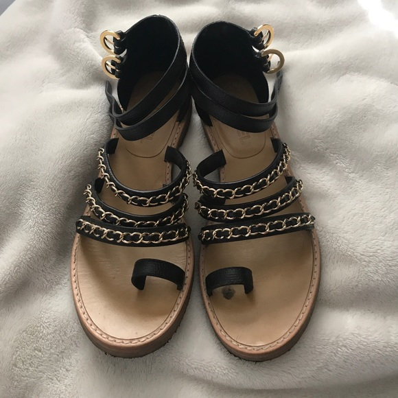 833c46ce7 CHANEL Shoes - AUTHENTIC Chanel Gladiator Sandals